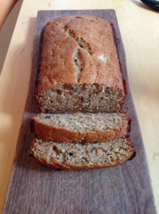 Simple Banana Bread loaf