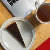 Chocolate tart recipe by David Lebovitz